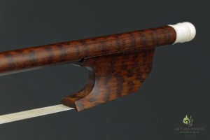 Ponce Stradivari A Barrocco Bow Detail 1